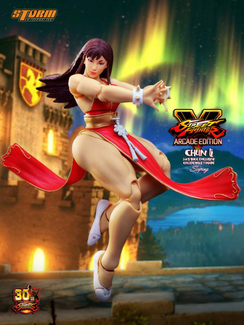 Storm Collectibles Street Fighter V Chun Li Battle