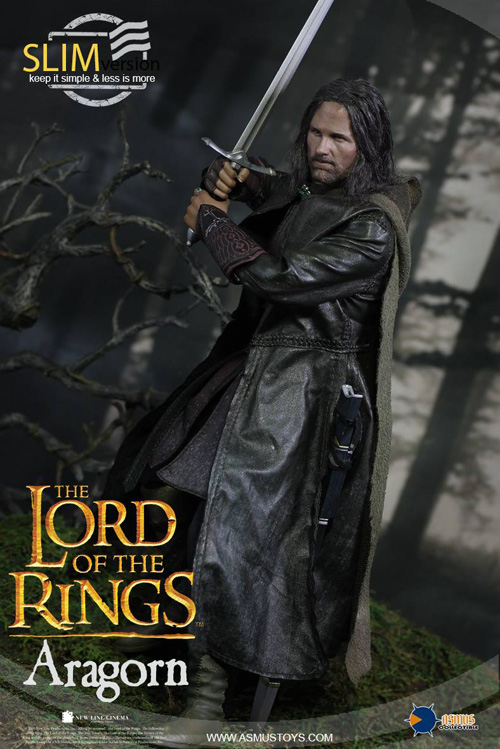 Asmus Toys 1:6 Lord Of The Rings Aragorn Slim Ver Open Palms With Ring Figure