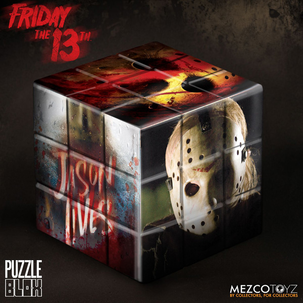 Картинки по запросу Puzzle Blox - Friday The 13th - Jason Voorhees