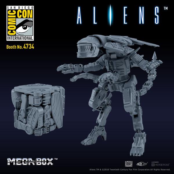 52 Toys - Megabox MB-06 - Xenomorph Queen - The Falcon's Hangar