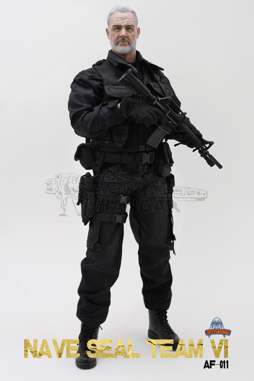 """1//6 ART FIGURES AF-011 Navy SEAL Team VI XM177 rifle+mags  for 12/"""" figure use"""