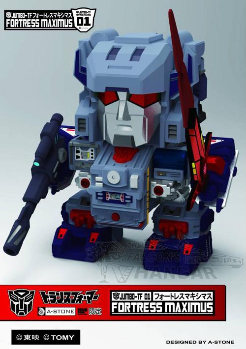 A-Stone Toys Jumbo-TF 01 Fortress Maximus Wonder Festival 2013 Limited Edition